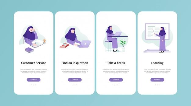 Moslemはアプリの設計に取り組んでいます