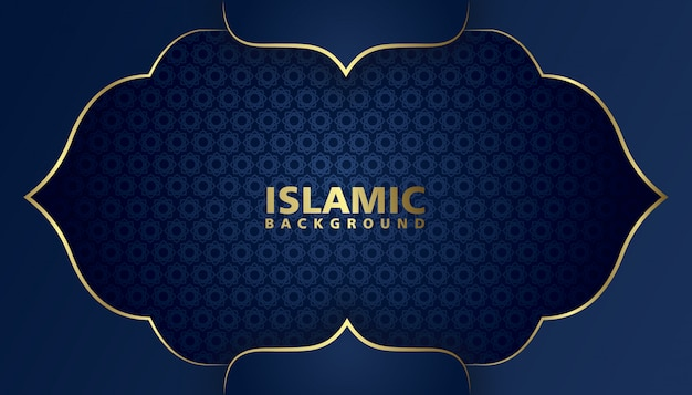 Mosque background illustration