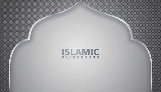 Mosque background illustration