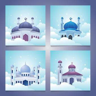 Мечеть на облаке, исламские коллекции