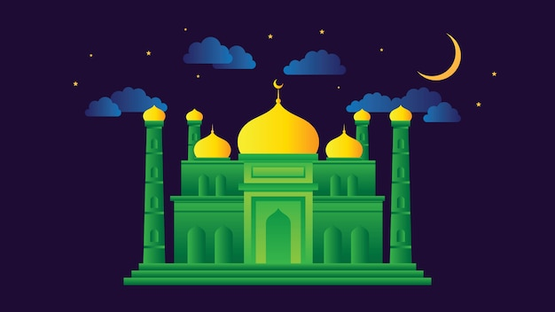 Mosque vector illustration