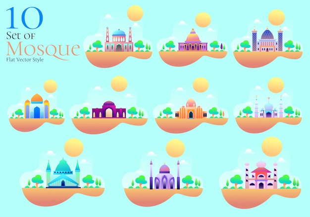 Mosque vector style