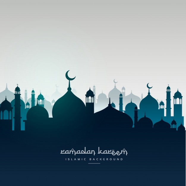 Mosques silhouettes