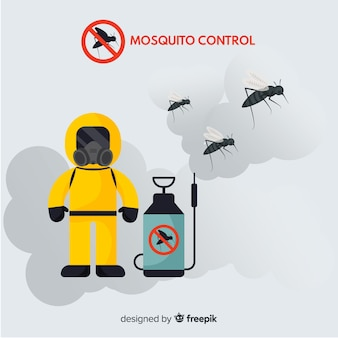 Mosquito control background