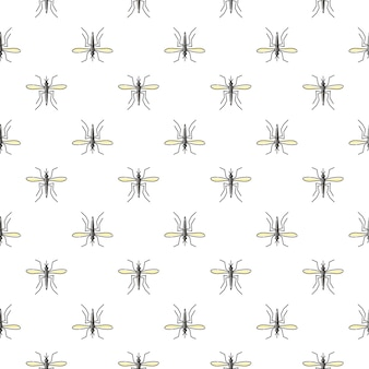 Mosquito seamless pattern for textile design, wallpaper, wrapping paper