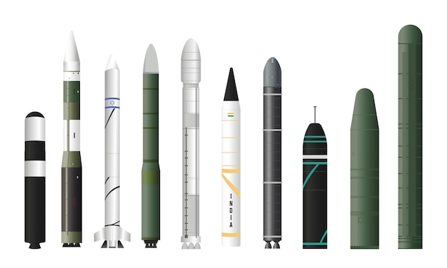 The most powerful and fastest intercontinental ballistic missiles in the world