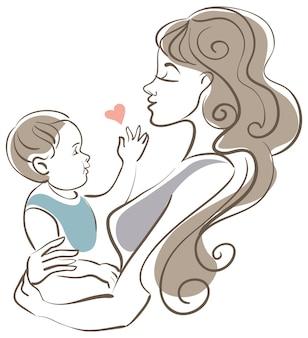 母と赤ちゃん