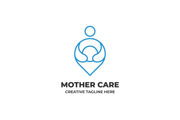 마더 케어 육아 모유 수유 커뮤니티 로고