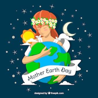 Земля матери земли для земного мира