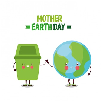 Mother earth planet day.