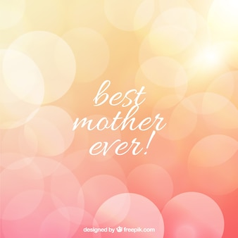 Mother's day background in blurred style