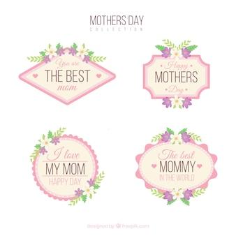 어머니의 날 배지 컬렉션