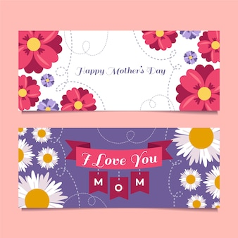 Mother's day banners