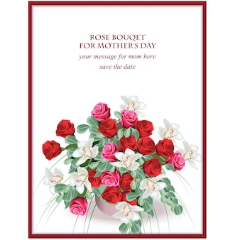 어머니의 날 카드 디자인