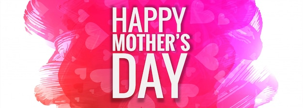 Mother's day colorful background