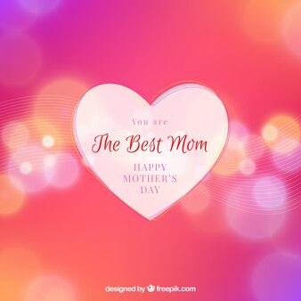 День матери расфокусированным фон боке