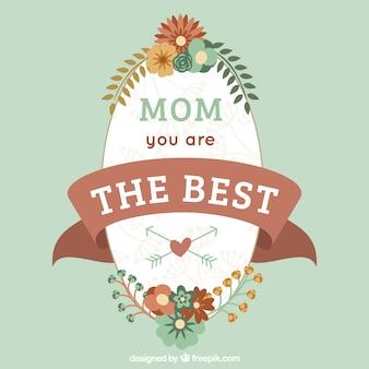 어머니의 날 퀸 스타일 카드