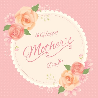 Mother's day vintage card