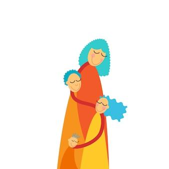 Дети троих детей