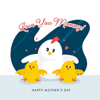 Mothers day background.