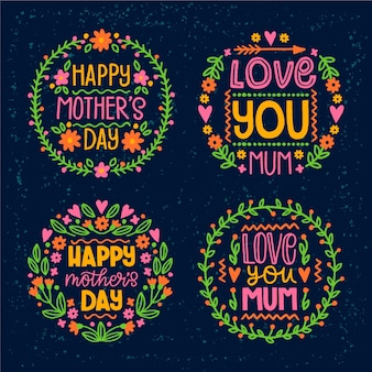 Mothers day badge pack