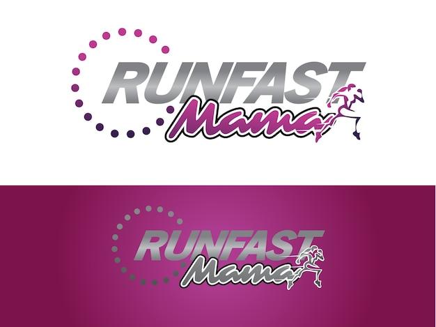 Mothers fitness coach logo designcsre