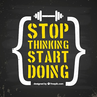 Motivation quote background in yellow color