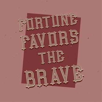 Lettering motivazionale: design di citazione ispiratrice.