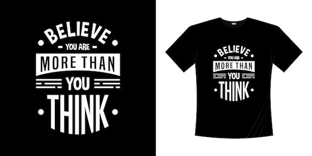 동기 부여 레터링 타이포그래피 티셔츠 디자인. 레터링 손으로 쓴 스타일.
