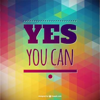Motivational poster design