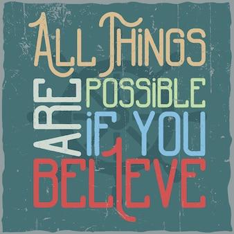 Motivational poster.
