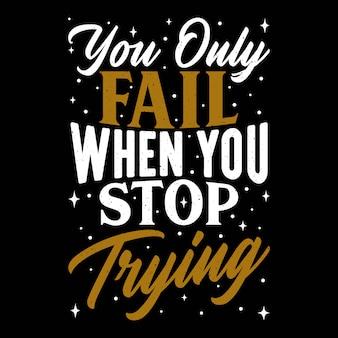 Motivational quotes design