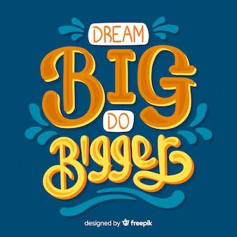 Мотивационные цитаты на синем фоне