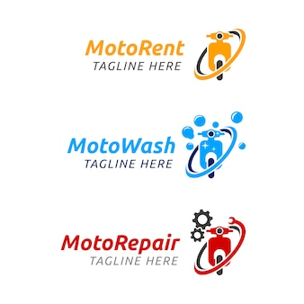 Moto rent logo