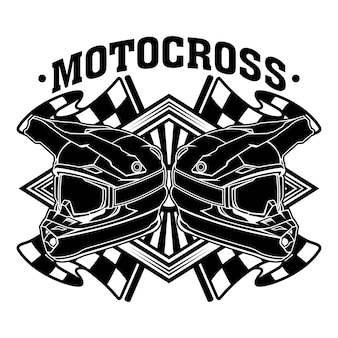Motocross bike dirt racing team