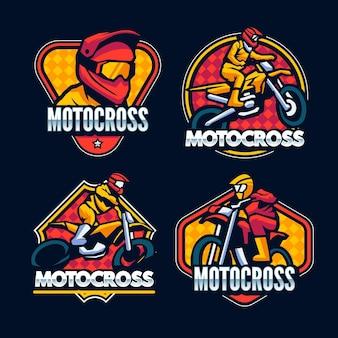 Motocross 로고 컬렉션