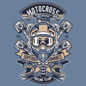 Motocross racing team