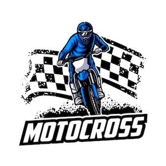 Motocross vector logo , motocross freestyle