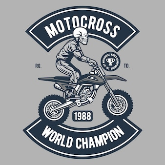 Motocross world champion