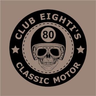 モーターサイクルクラブのロゴ