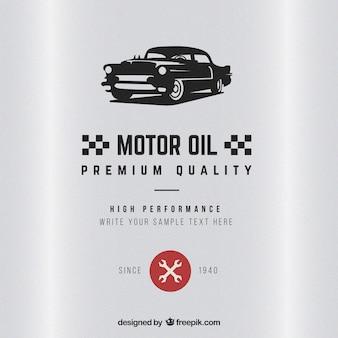 Motor oil badge