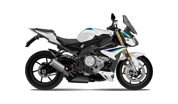 Мотоцикл иллюстрация