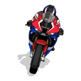 Motorbike illustration
