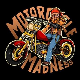 오토바이 바이커 갱