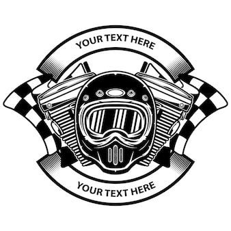 Motorcycle club logo design