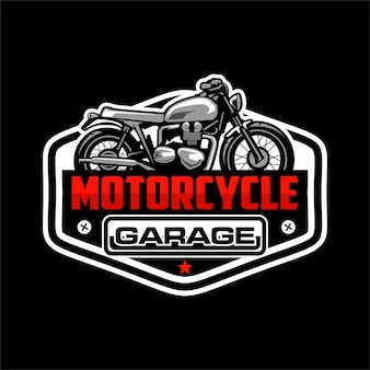 Логотип гаража на заказ мотоцикла