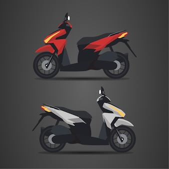 Мотоцикл матик
