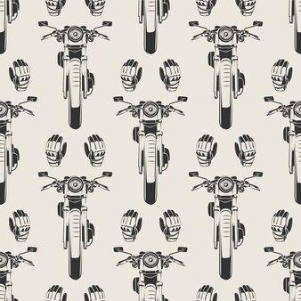 오토바이 모토 장갑 완벽 한 패턴