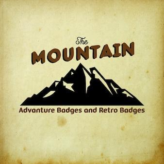 The mountain badge
