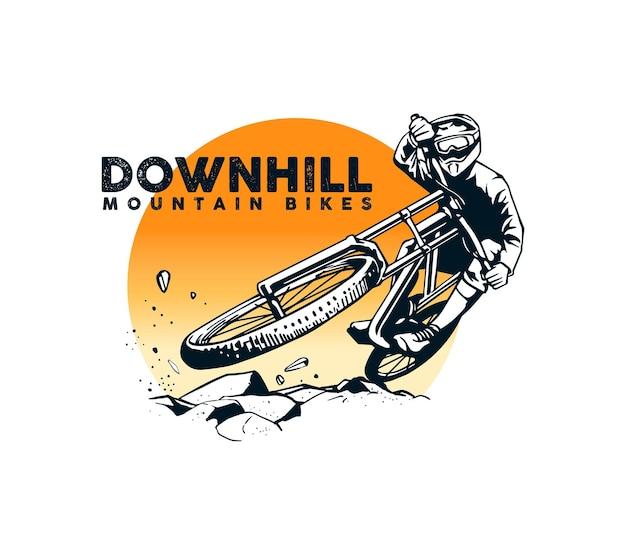 Mountain bike artwork